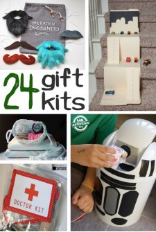 Gift Kits that you can make for kids to build and create with