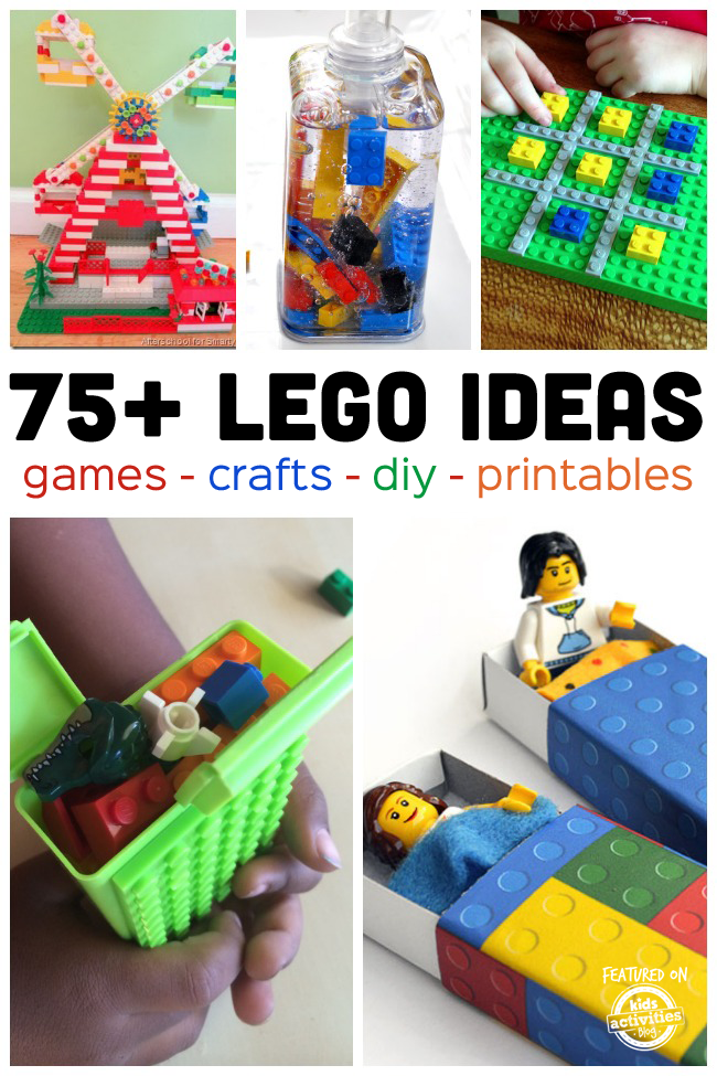 75 Fun Lego Ideas