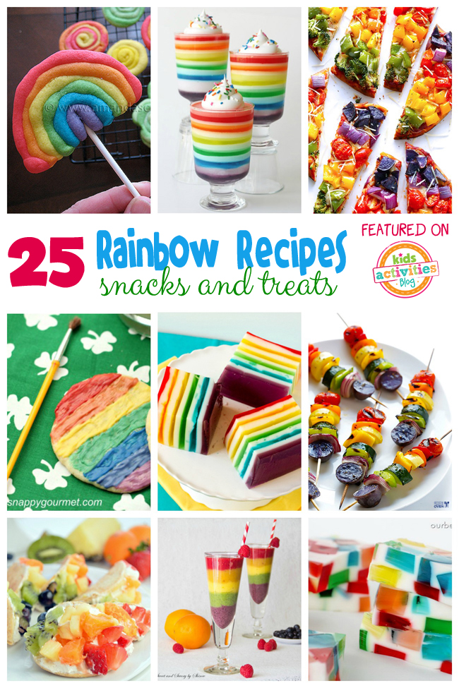 25 Rainbow Food for Kids