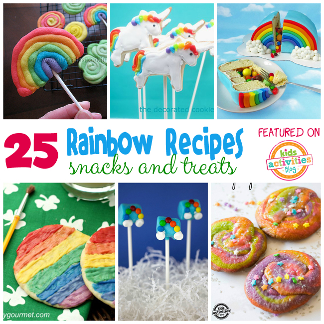 25 Rainbow Food sfor Kids