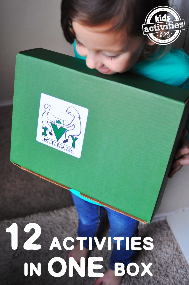 activity box from Ivy kids