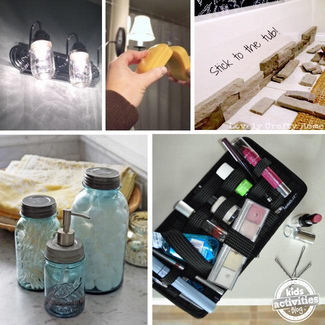 bathroom ideas to make life a little easier