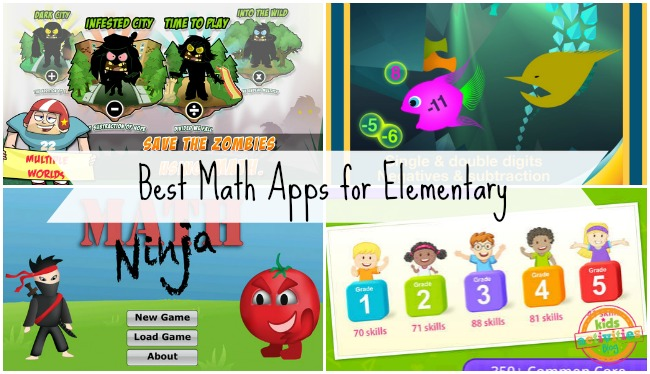 Best Math Apps for Elementary