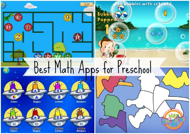 Best Math Apps for Preschool