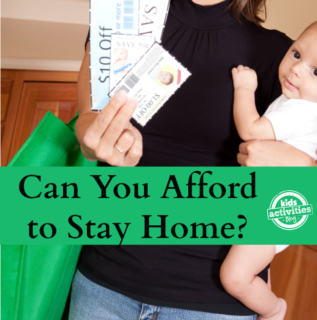 can you afford to stay home