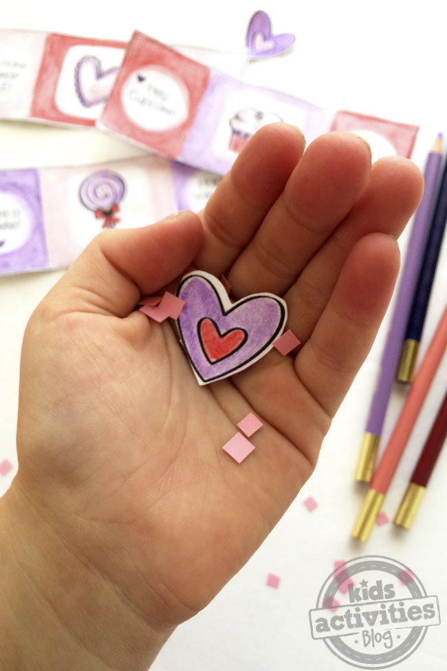 Printable Valentine Cards kit for Kids