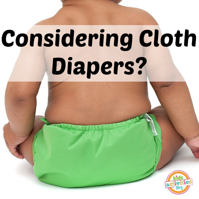 considering cloth diapers