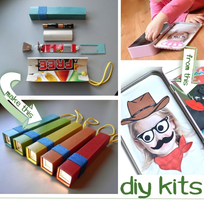 create kits for your kids to make