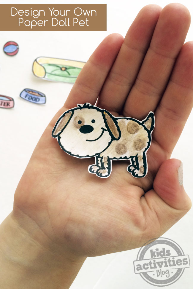 Design Your Own Paper Doll Pet
