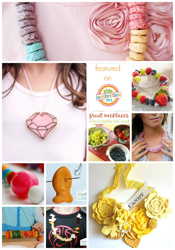 edible necklaces - Kids Activities Blog