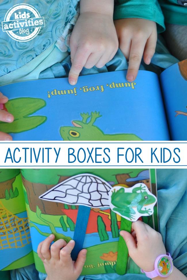frog activity box from Ivy Kids Kits