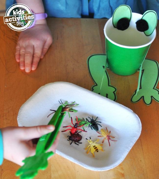 frog activity kit for kids