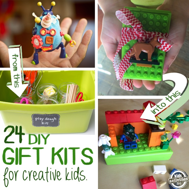 gift kits that you can make for your kids