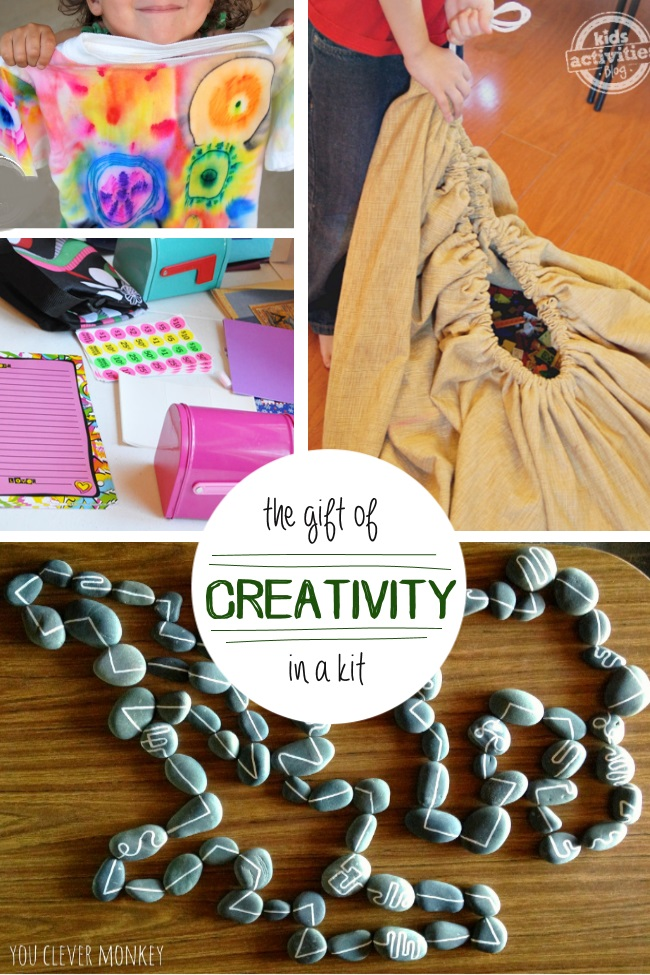 gifts that are perfect to create for a creative kid