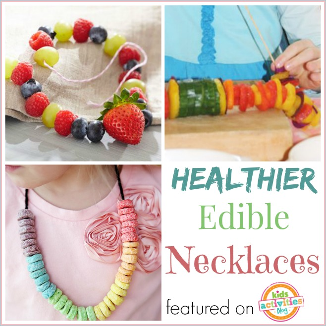 healthy edible necklaces