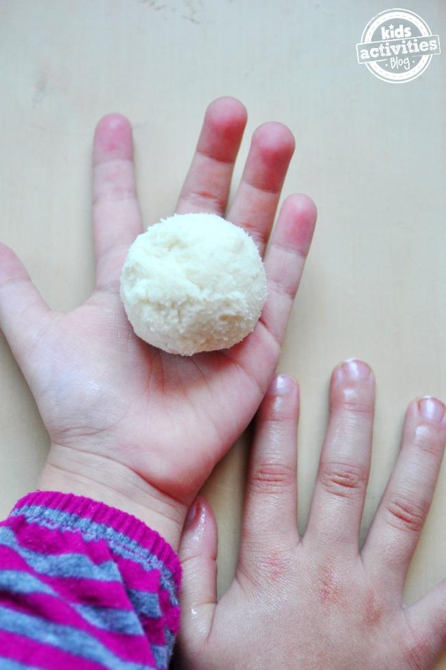 dry skin on balls