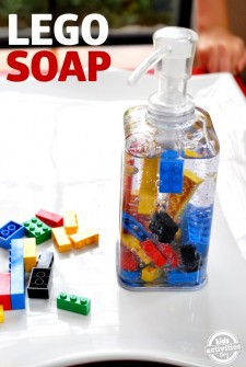 lego soap your kids can make