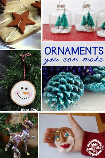 lots of ornament ideas to make for Christmas