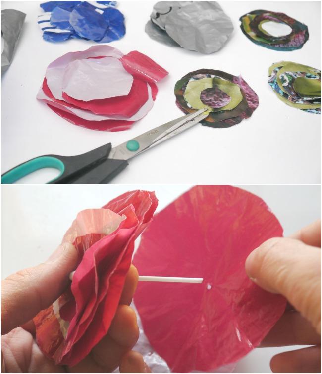 make flower craft