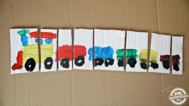 make toddler puzzle