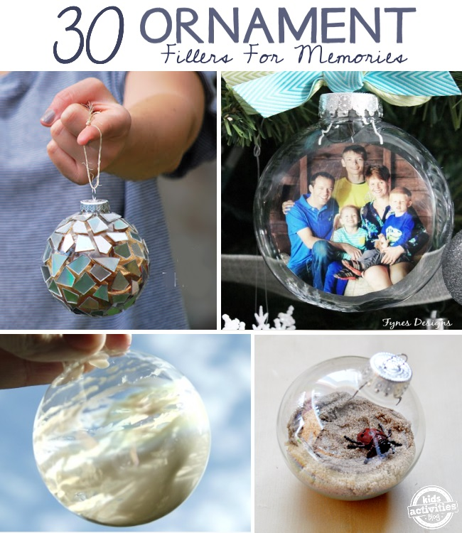 30 ornaments to make