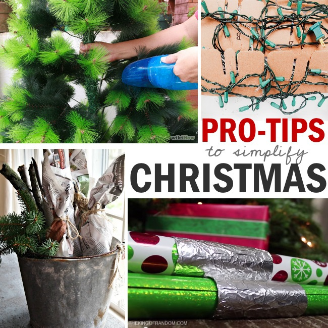 simplify your christmas with these DIY pro tips
