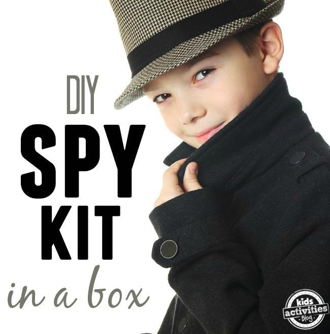 spy kit in a box