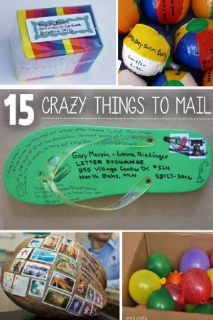 things you never thought of mailing