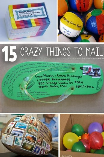 15+ Things You Never Thought You Could Mail
