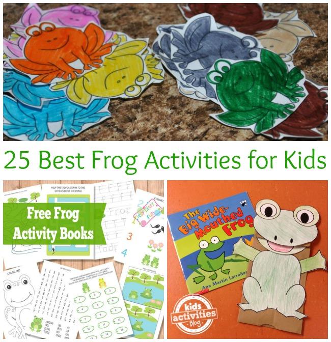 25 Best Frog Activities