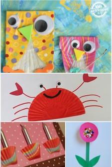 25 Cupcake Liner Crafts
