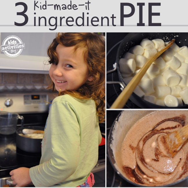 3 ingredient dairy free cream pie