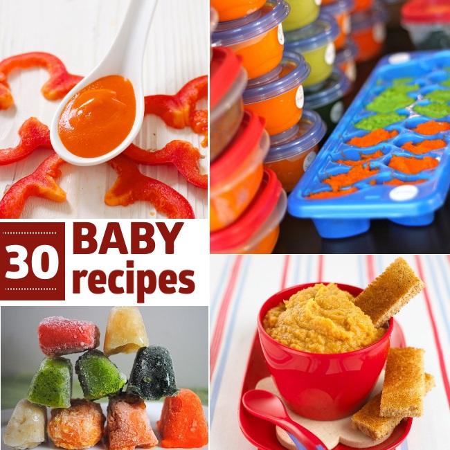 30 baby food recipes