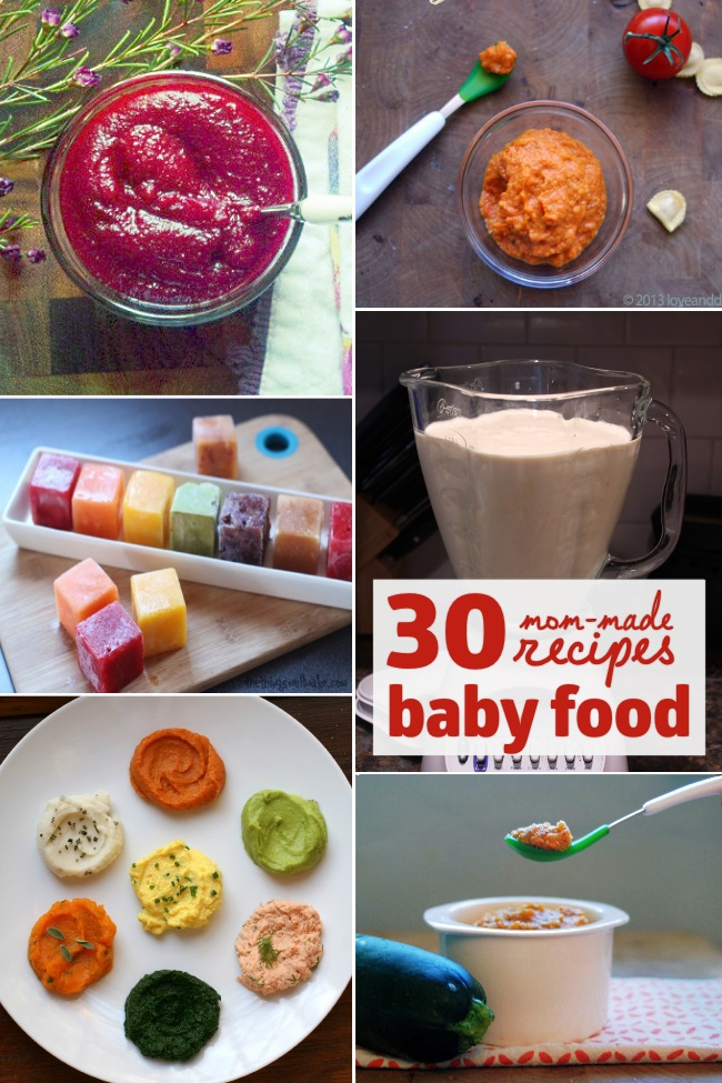 30 mom made baby food recipes 2