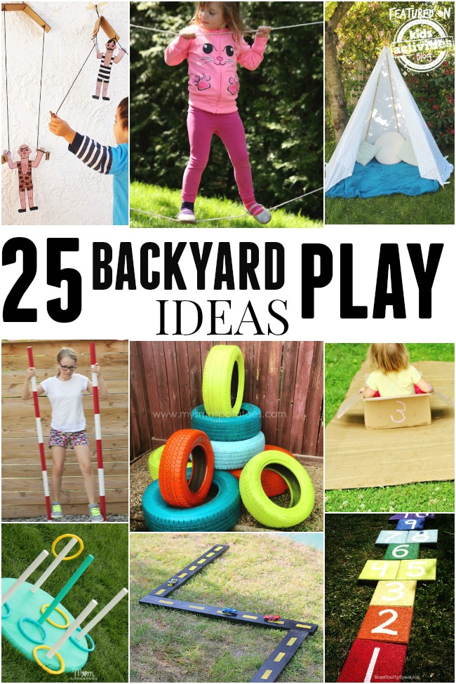 Fun Backyard Ideas For Toddlers : December 23, 2014 by Birute Efe Leave a Comment