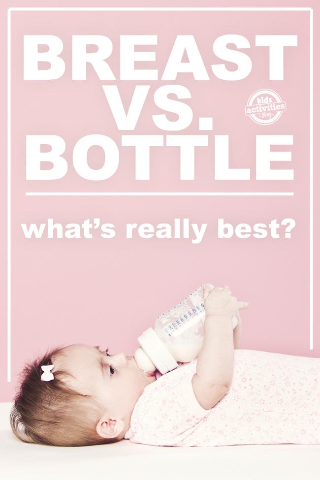 Breastfeeding vs. Bottle Feeding - What Is REALLY Best?