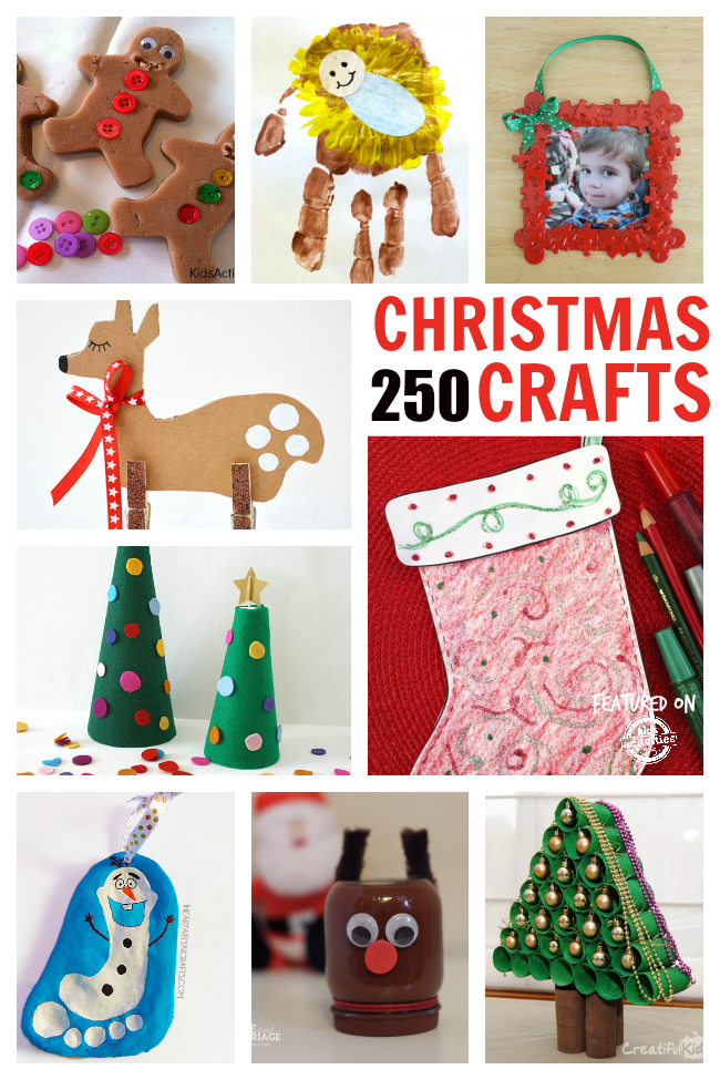 250 of the best christmas crafts for Free christmas crafts for kids