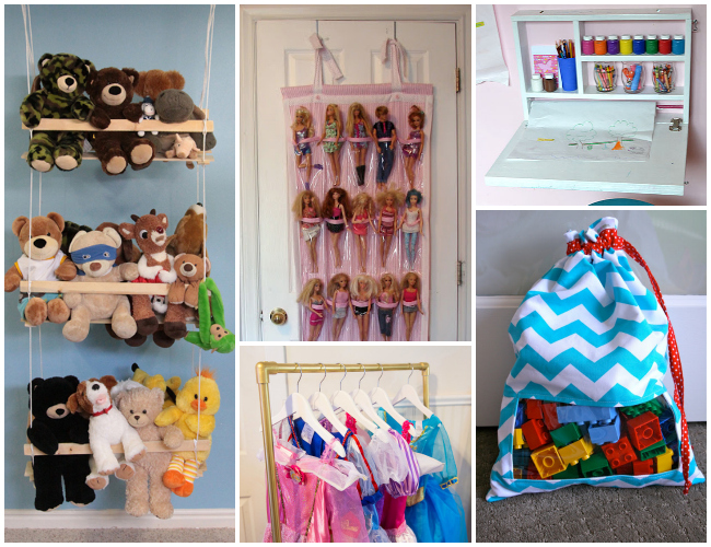 26 ways to organize toys in small spaces. Black Bedroom Furniture Sets. Home Design Ideas
