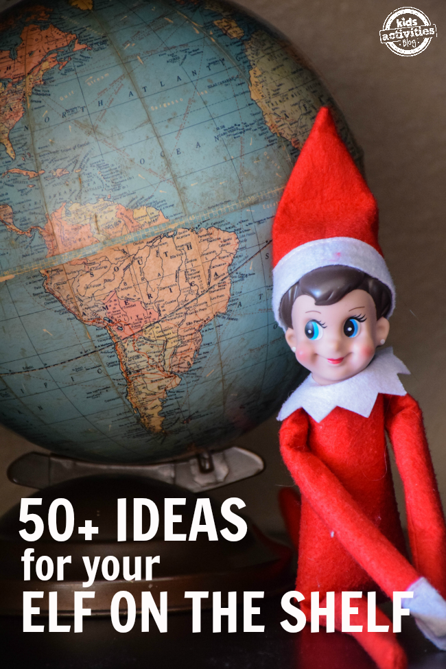 50+ Elf on the Shelf Ideas
