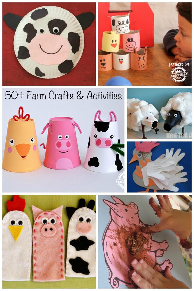 50 fun farm crafts amp activities