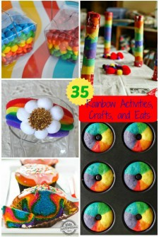 35 Rainbow Activities, Crafts and Eats