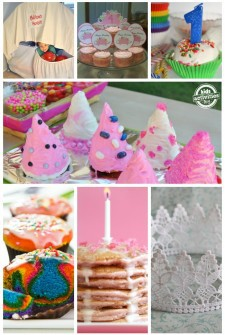 Girl Birthday collage