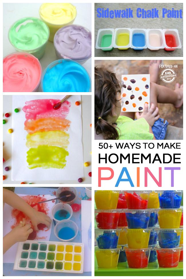 50+ Ways to Make Homemade Paint