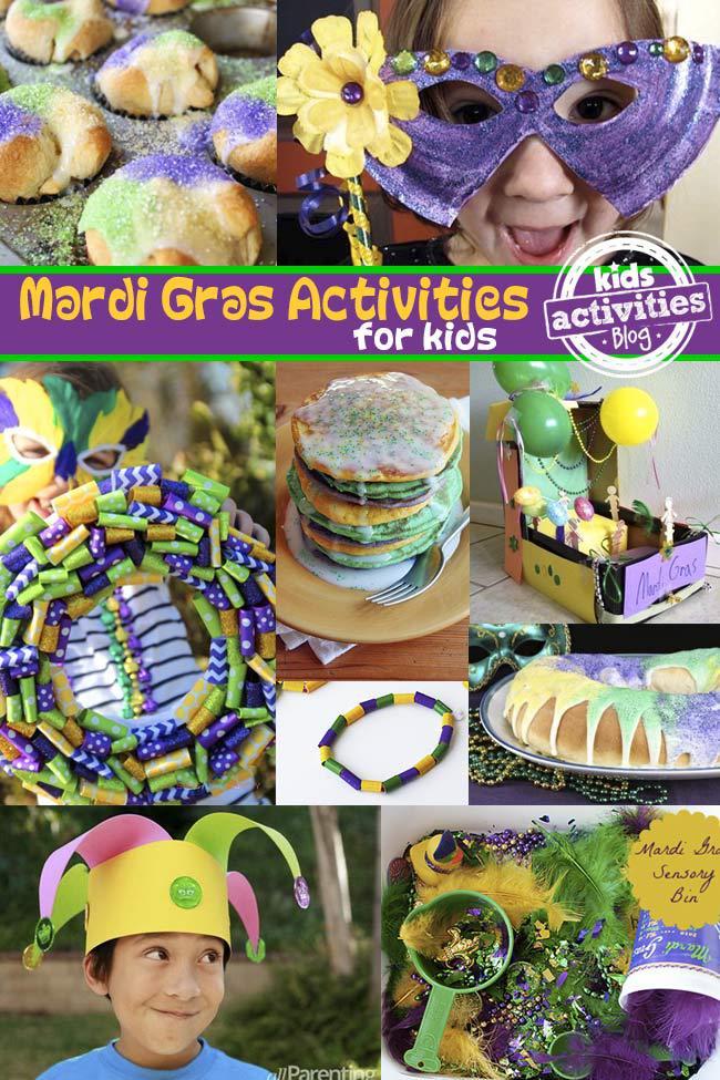 Mardi Gras Activities for Kids