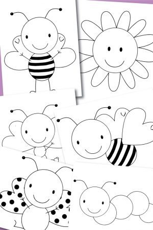 Free Printable Coloring Pages Spring Buggies