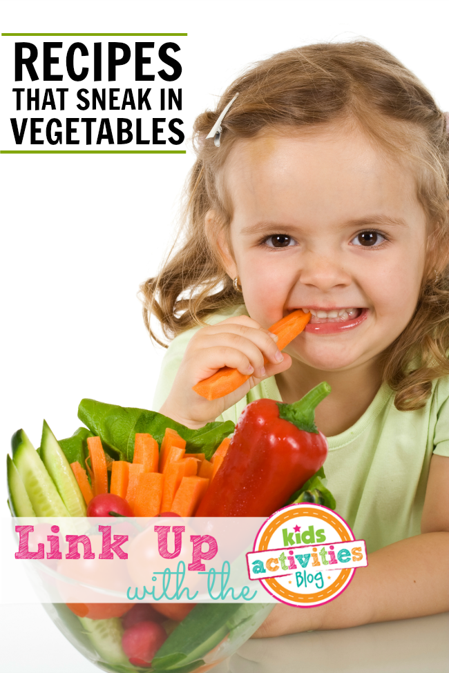 Recipes that sneak in vegetables
