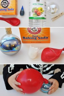 easy baking soda experiment for kids