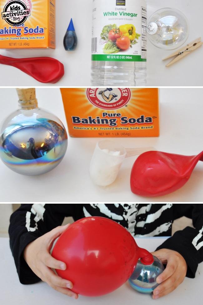 easy baking soda experiment for kids