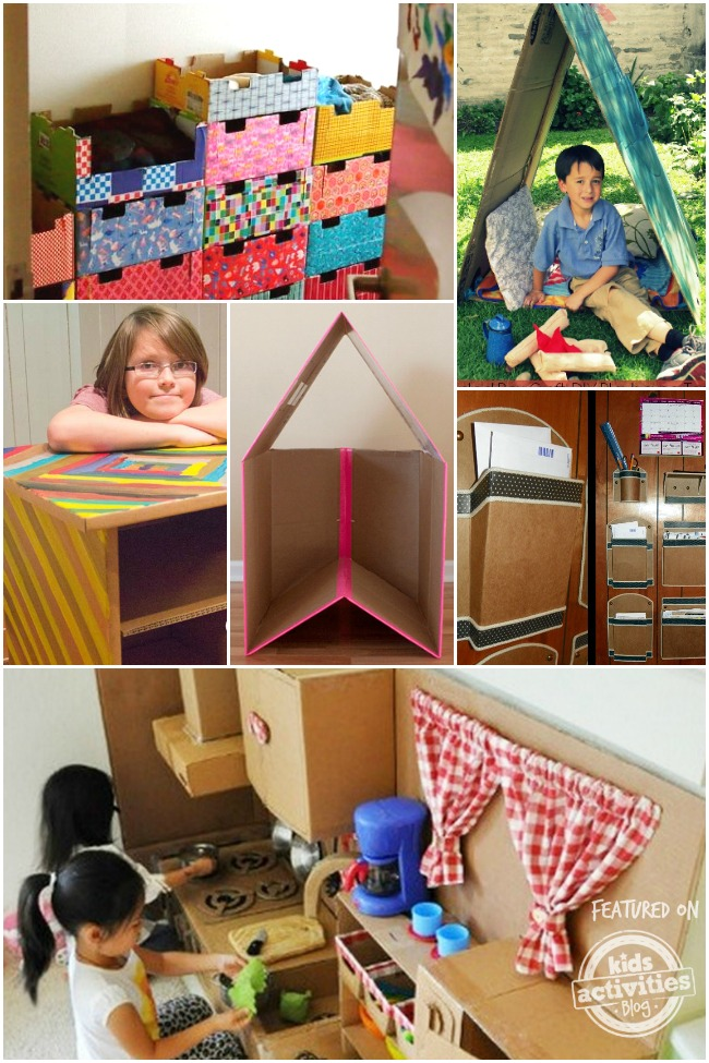 Diy Cardboard Furniture For Kids