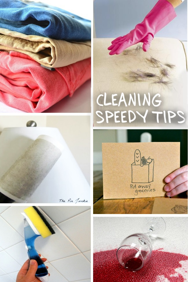 cleaning tips with font
